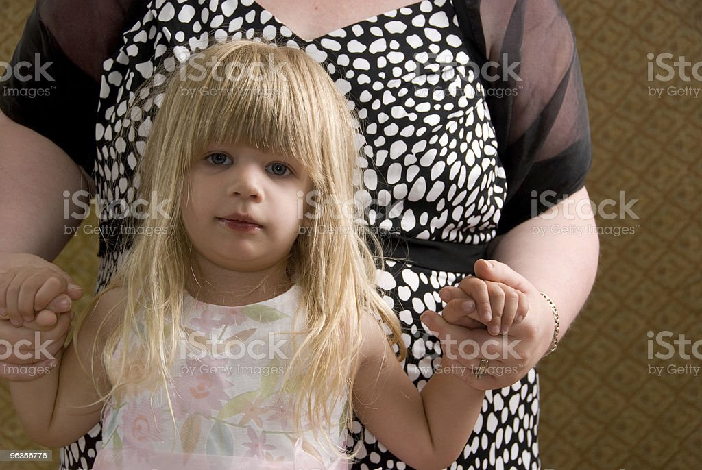 Toddler with Mother royalty-free stock photo