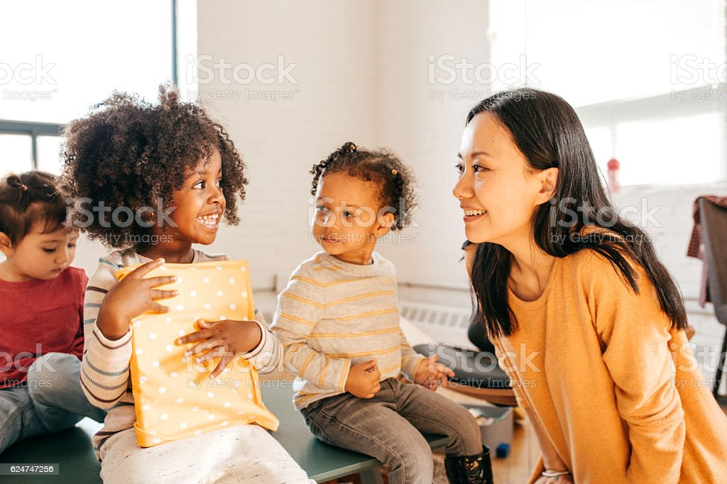Toddlers education stock photo
