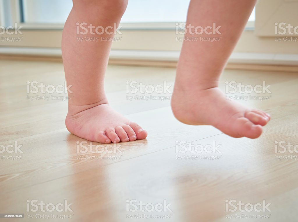 Toddler's Steps stock photo