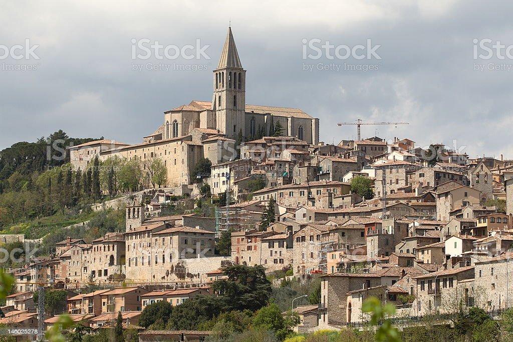 Todi, Umbria, Italy royalty-free stock photo