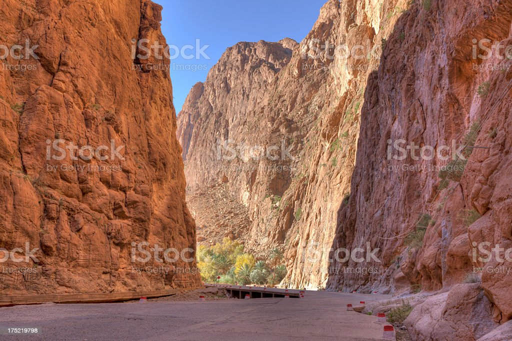 Todra Gorge, Morocco royalty-free stock photo