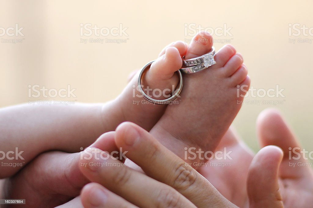 Toes and Hands royalty-free stock photo
