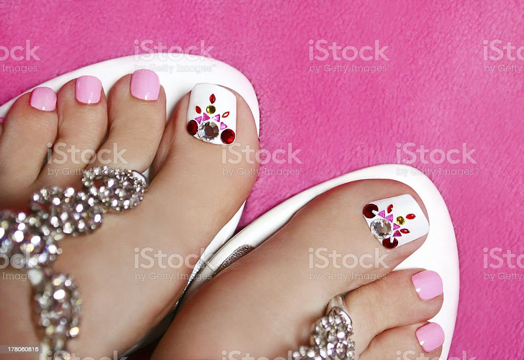 toes royalty-free stock photo