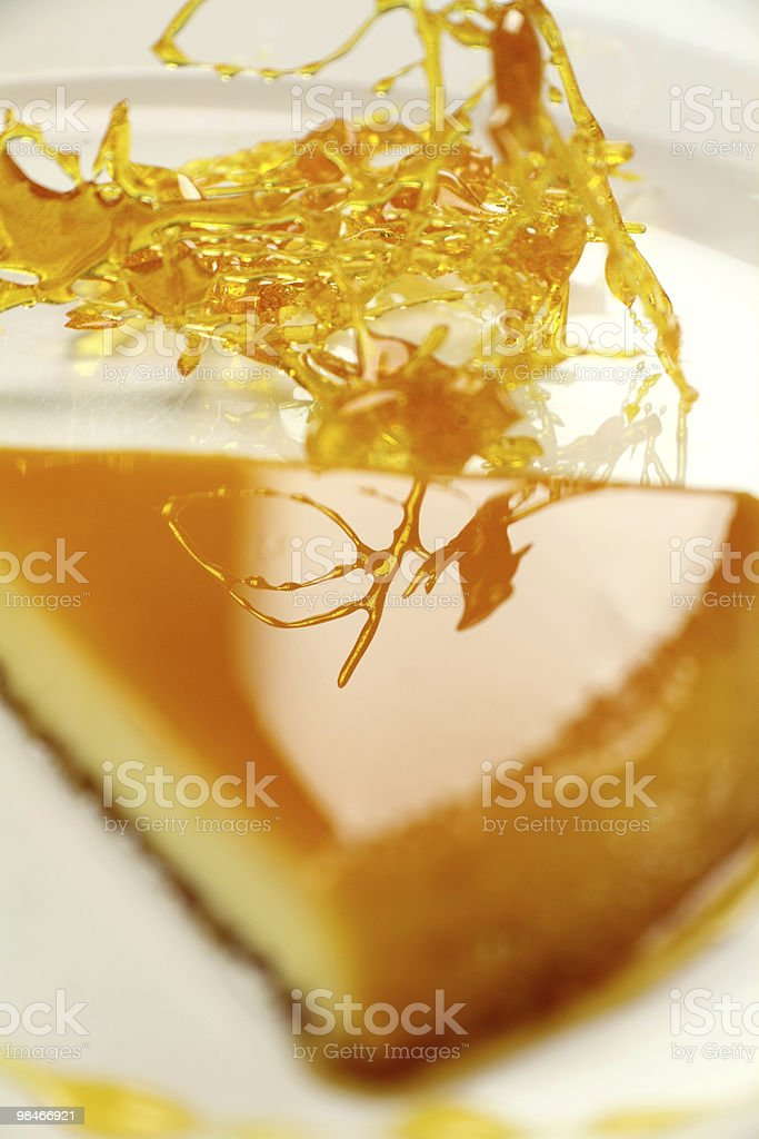 Toffee And Creme Caramel royalty-free stock photo