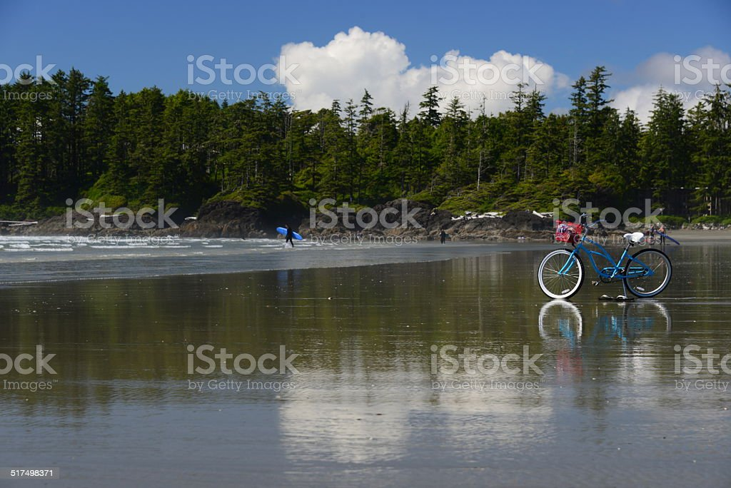 Tofino Beach Cruiser stock photo