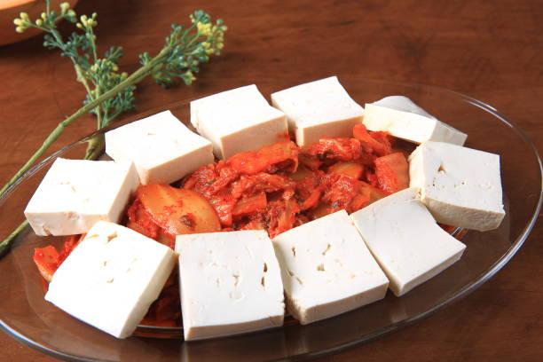Tofu et Kimchi sauté (Dubu Kimchi) - Photo