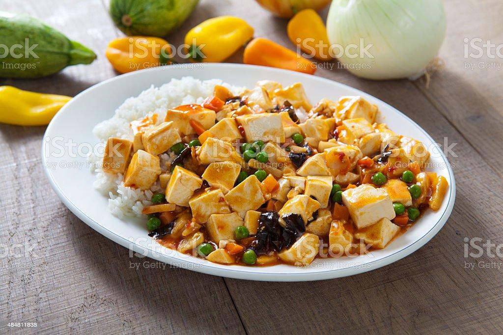MAPA Tofu stock photo