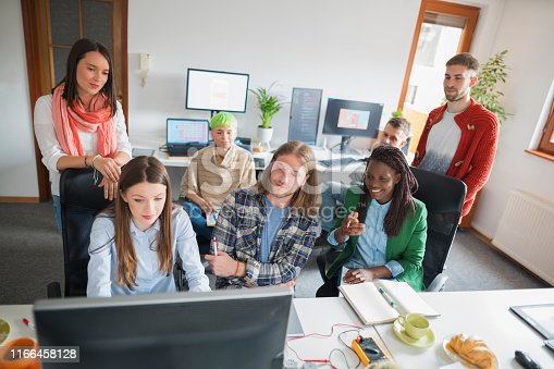istock Together as a team, we can move mountains! 1166458128