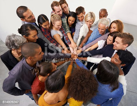 istock Together everyone achieves more 514325247
