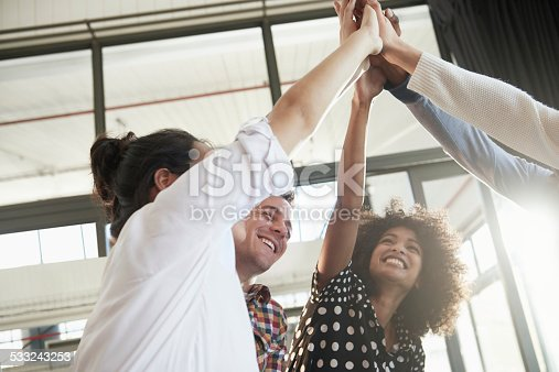 istock Together everyone achieves more 533243253