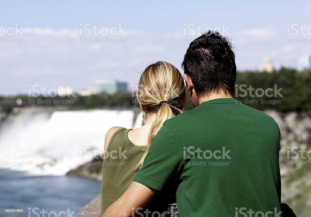 Together in love stock photo