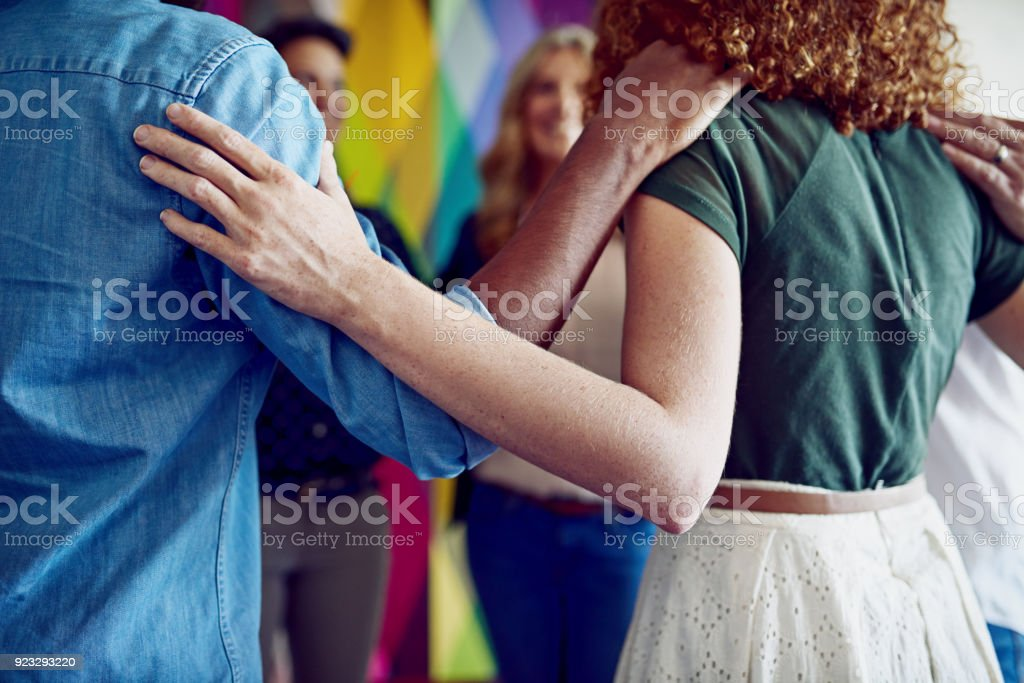 Together is better stock photo