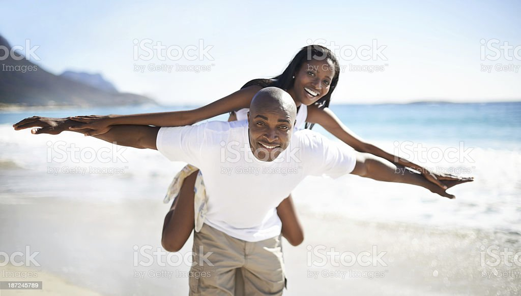 Together they soar stock photo