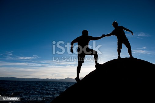 istock Together we can do it 695685584