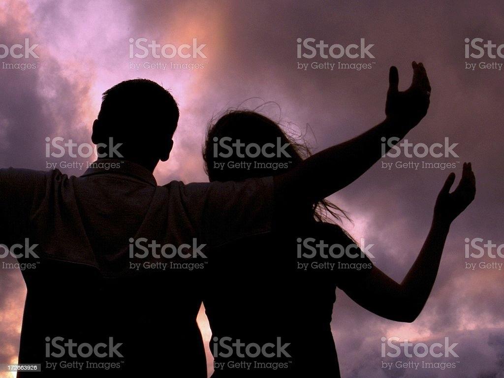 Together We Praise royalty-free stock photo