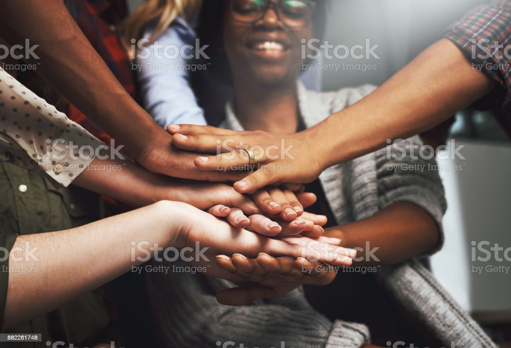 Together we're unstoppable stock photo