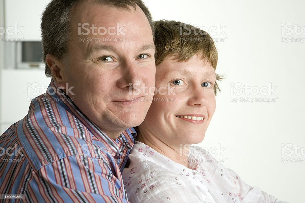 Togetherness in love royalty-free stock photo