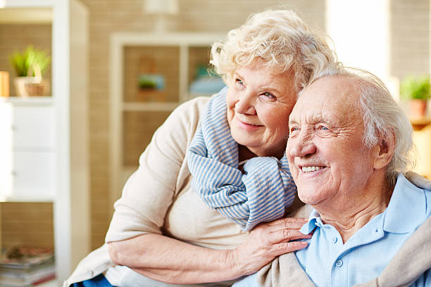 Old Granny Lover Stock Photos, Pictures & Royalty-Free