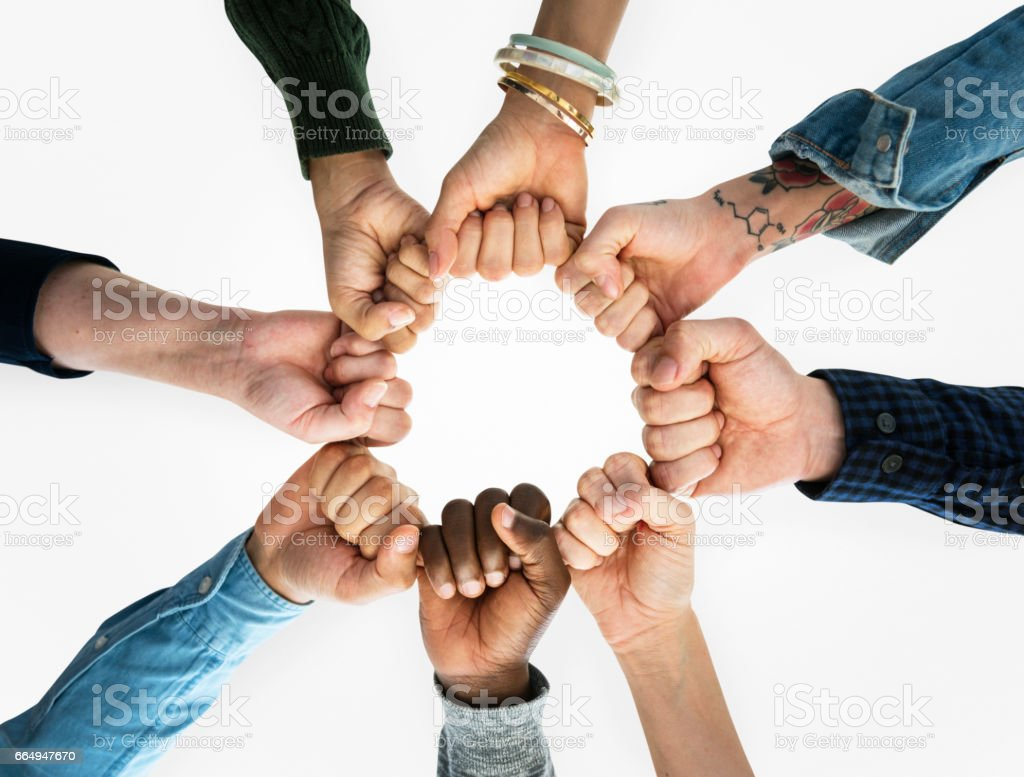 Togetherness Team Alliance Community Connection stock photo