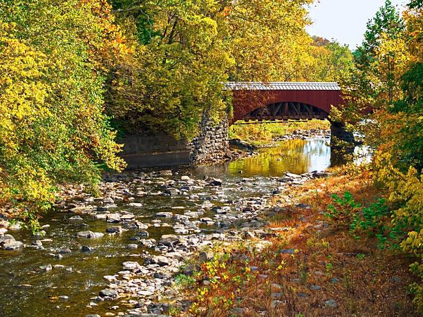 Tohickon Creek Aqueduct stock photo