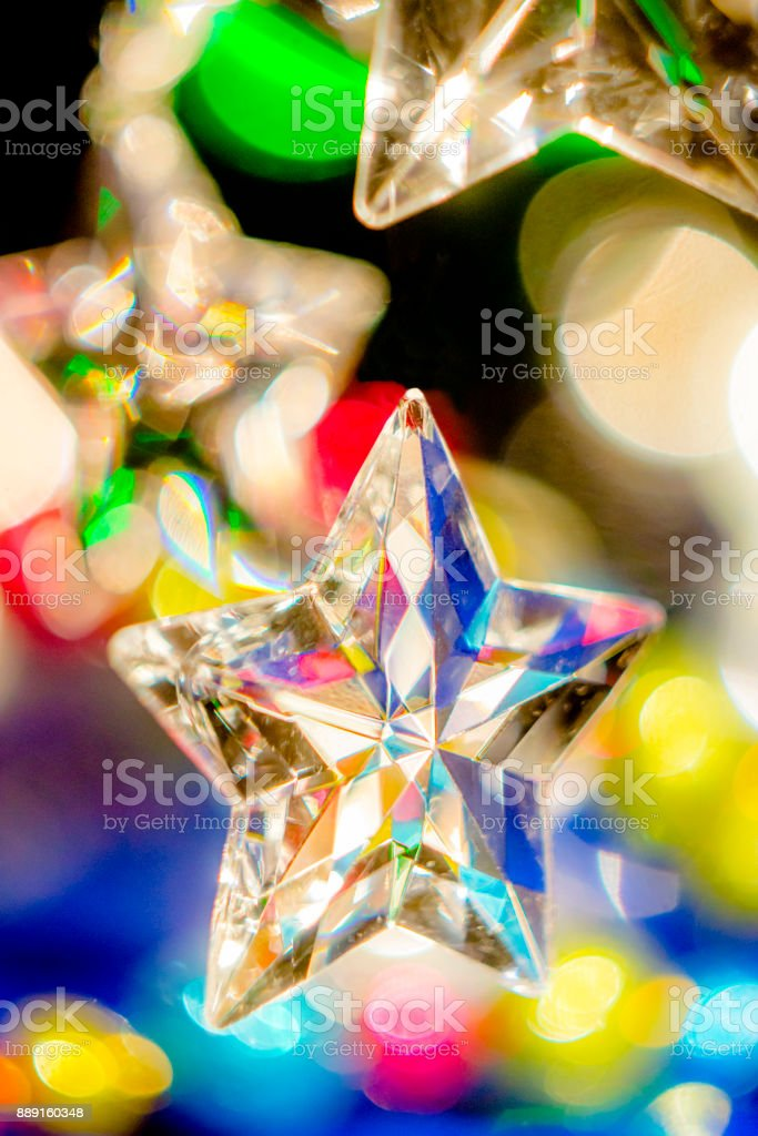 Étoiles festives stock photo