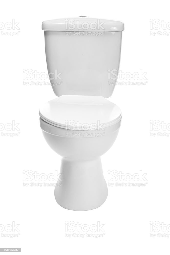 toilet bowl stock photo