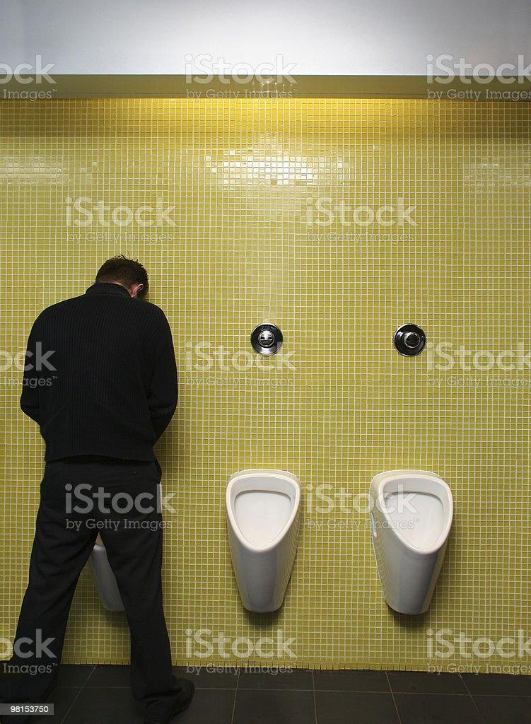 Toilet break stock photo