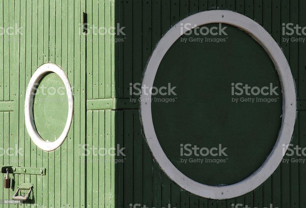 Toilet circles royalty-free stock photo