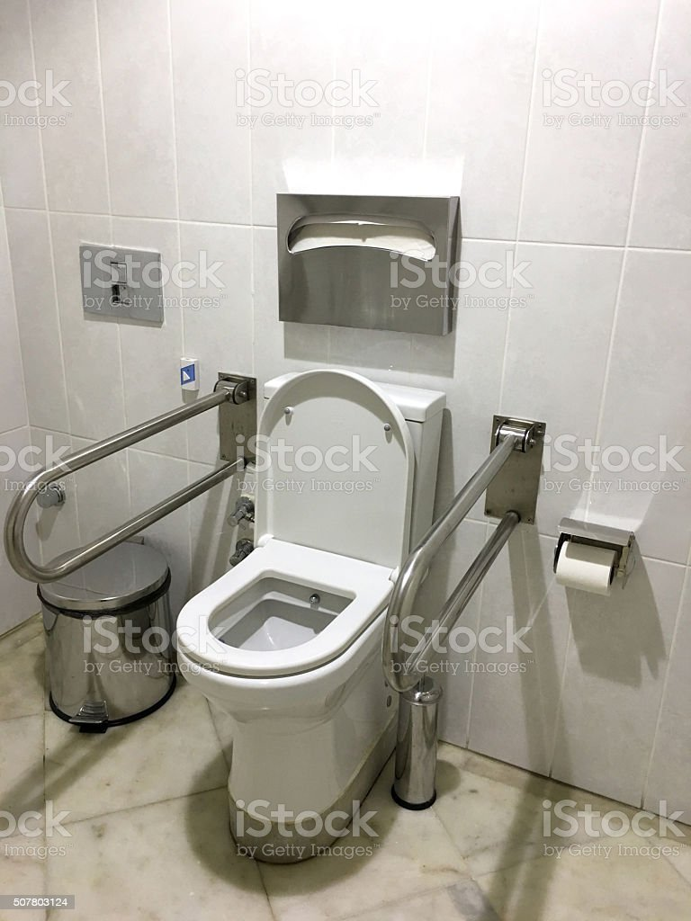 Toilet For Disabled Stock Photo & More Pictures of Accessibility ...