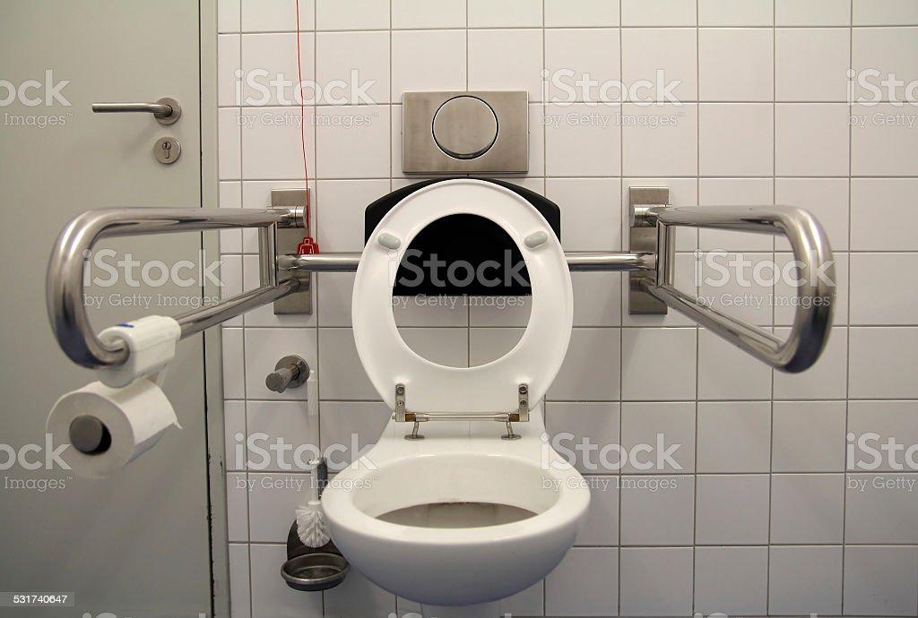 Toiletten für behinderte – Foto