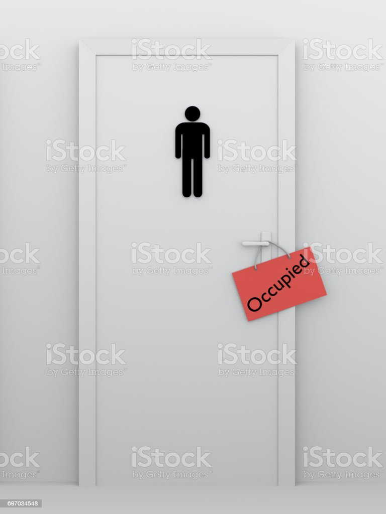 Toilette für Männer konnen – Foto