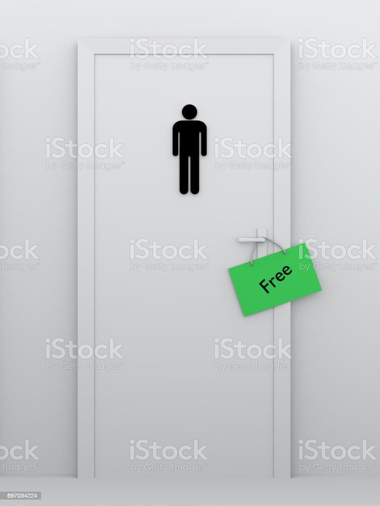 Toilette für Männer kostenlos – Foto