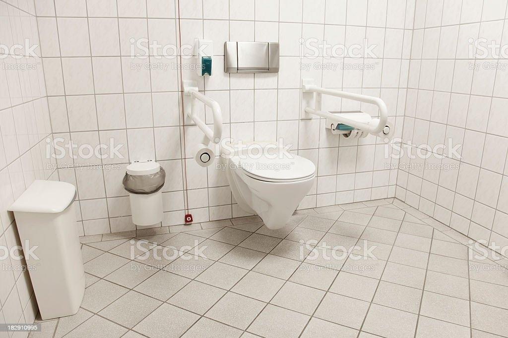 WC PER DISABILI - foto stock