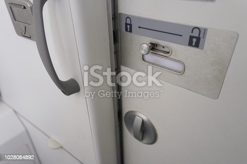 istock toilet in airplane 1028084892