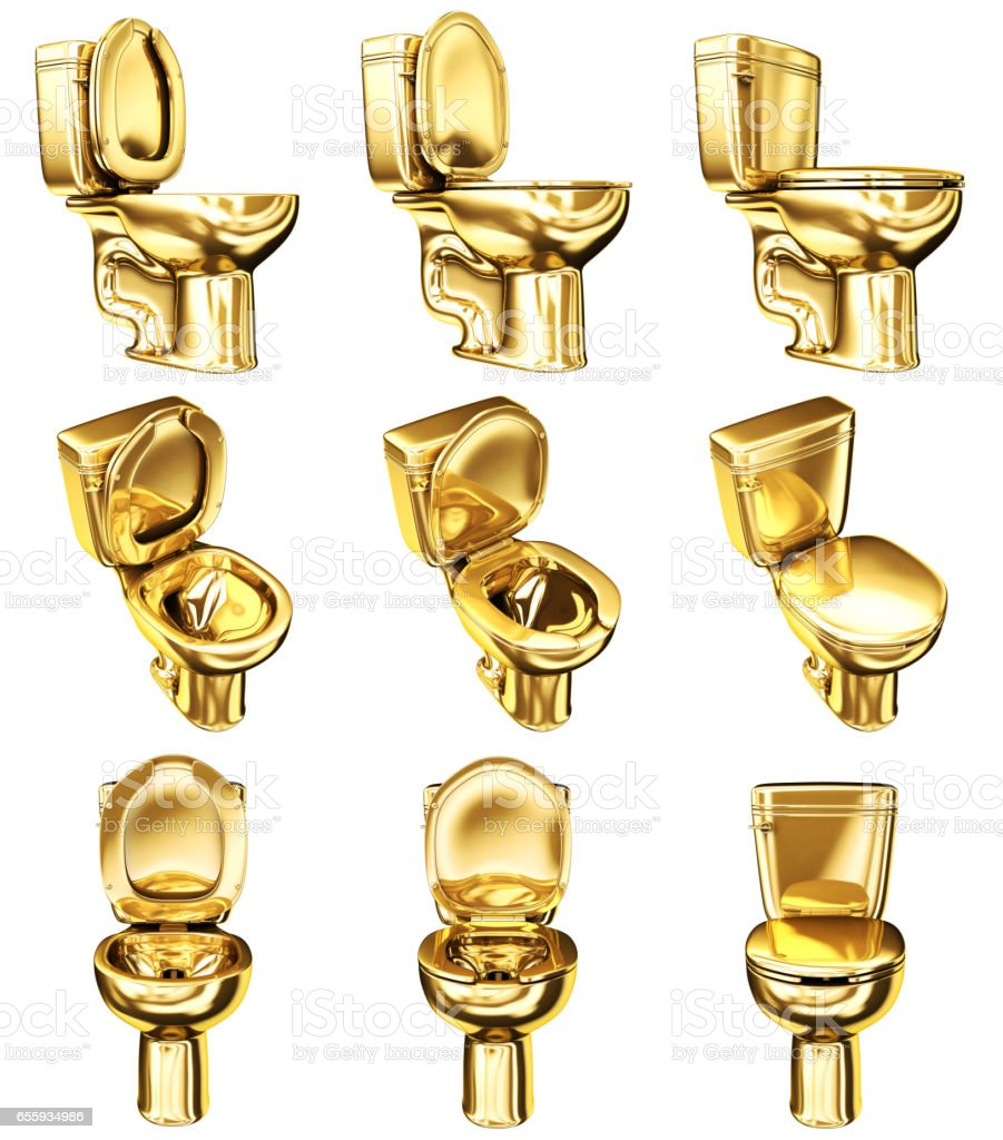 toilet made of gold. WC Toilet Made Of Gold Royalty Free Stock Photo Wc Toilet Made Of Gold Stock Photo  More Pictures Bathroom IStock