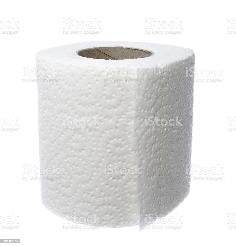 toilet paper bathroom supplies hygiene stock photo