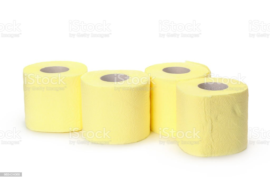 toilet paper isolated on white background royalty-free stock photo
