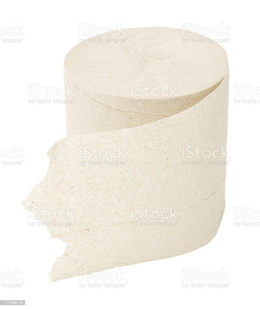 toilet paper, macro royalty-free stock photo