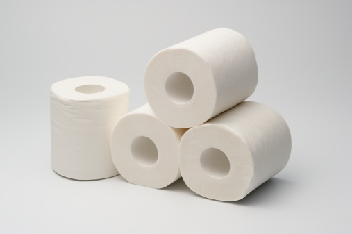 Toilet Paper Stock Photo - Download Image Now