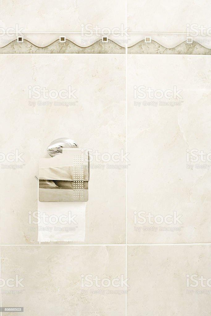 Toilettenpapier Lizenzfreies stock-foto