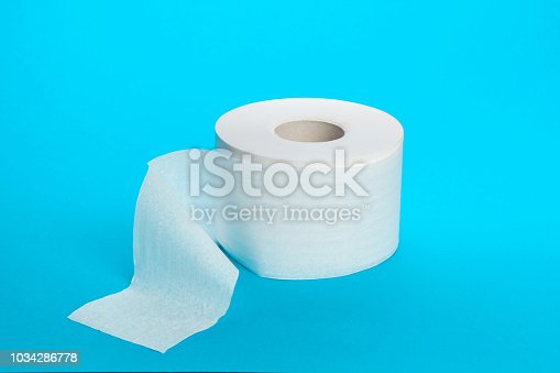istock Toilet paper unrolling 1034286778