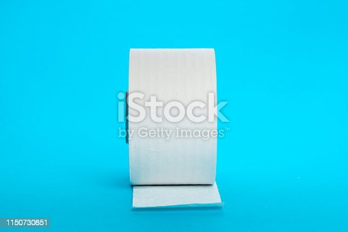 istock Toilet paper unrolling 1150730851