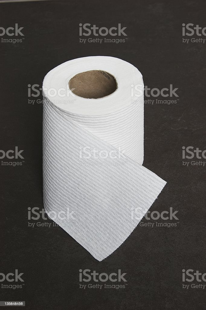 toilet roll royalty-free stock photo