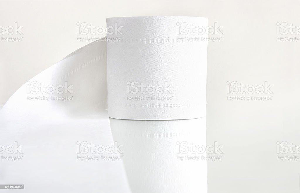 toilet roll royalty-free stock photo