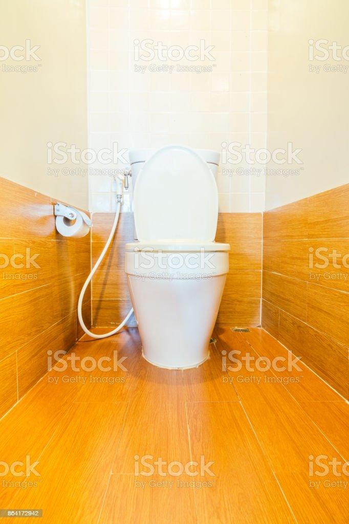Toilet room interior royalty-free stock photo