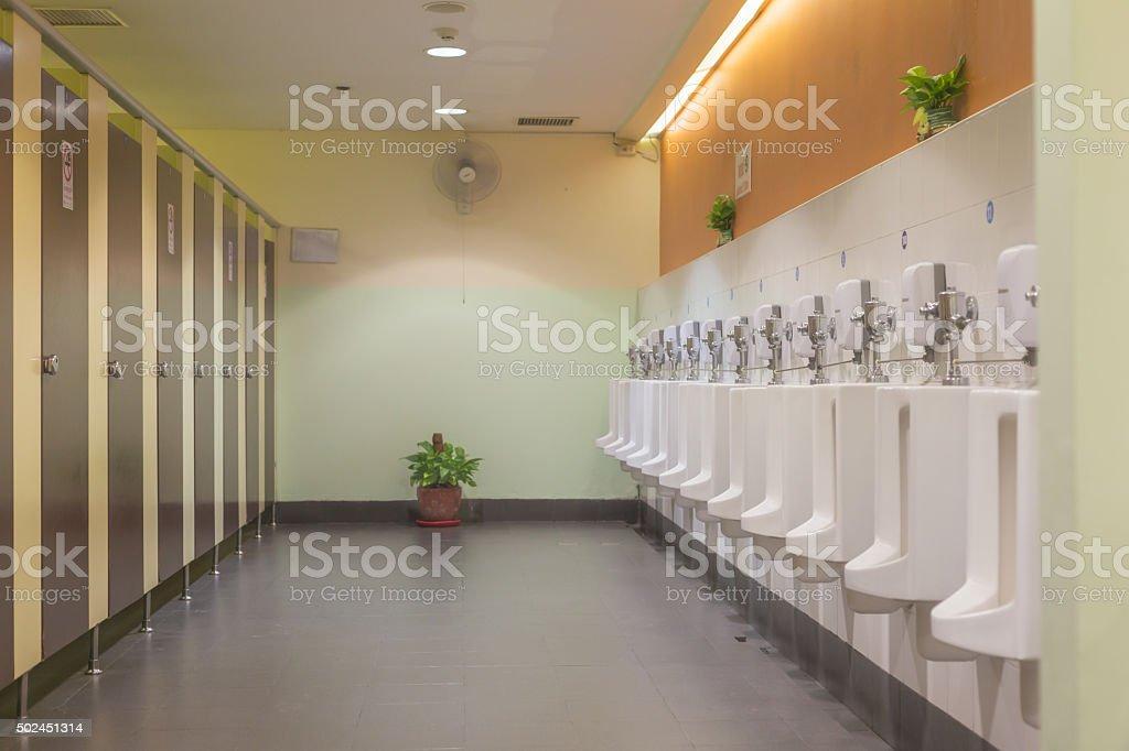 Toilet room stock photo