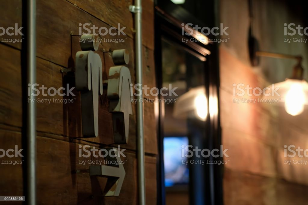 Toilet sign background royalty-free stock photo