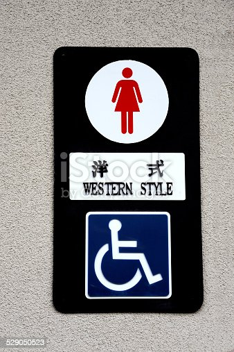 487881729 istock photo Toilet sign in Japan 529050523