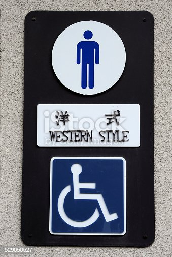 487881729 istock photo Toilet sign in Japan 529050527