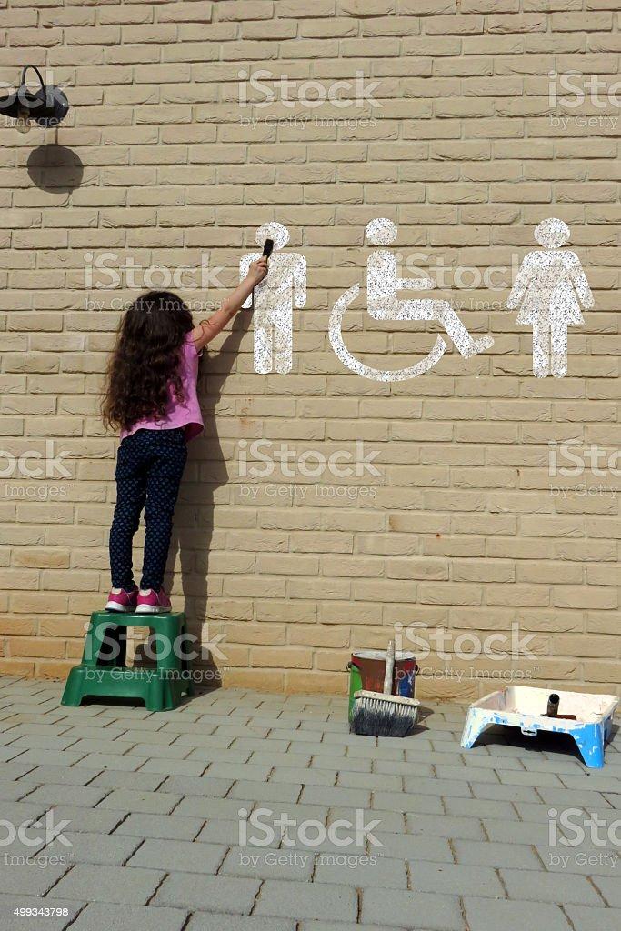WC-Schild – Foto